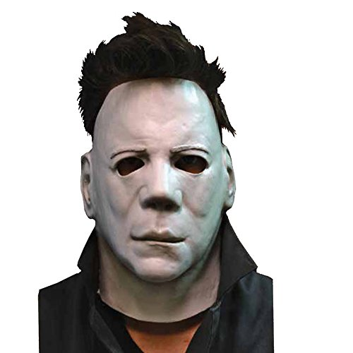 [Trick or Treat Studios Halloween II Face Mask, Multi, One Size] (Trick Or Treat Costumes For Adults)