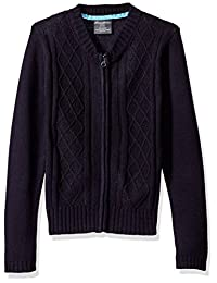 Eddie Bauer girls Diamond Cable Sweater