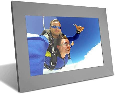 Digital Photo Frame,YENOCK 10 Inch WiFi Digital Frame HD IPS Motion Sensor Electronic with Touch Screen,16GB Storage Space,APP Facebook Twitter E-Mail Share Photos Or Videos Instantly