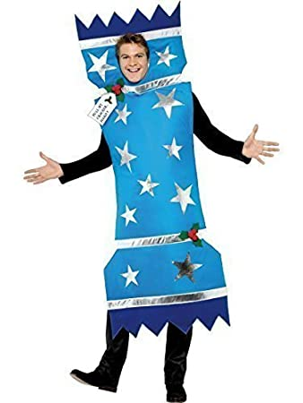 Mens Adult Christmas Cracker Xmas Novelty Festive Fancy Dress ...