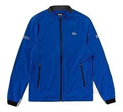 Lacoste Mens Sport DJOVOKIC Long Sleeve Solid Zip UP Jacket ...