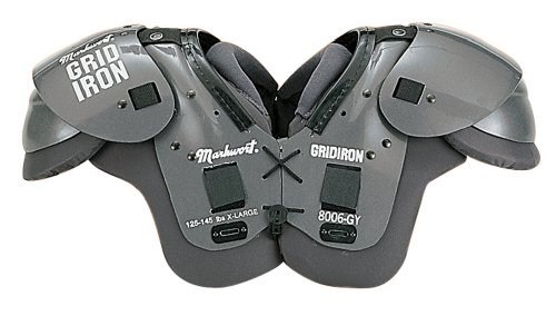 Markwort Youth Gridiron Football Shoulder Pads (X-Large) ()