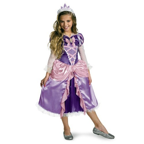 Tangled Princess Rapunzel Shimmer Deluxe Costume - coolthings.us