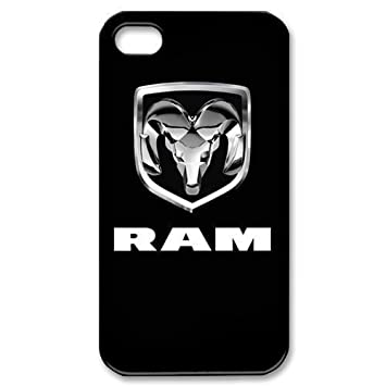 best sneakers e18d6 4357d Amazon.com: dodge ram logo #2 Pattern phone case for iPhone 5s ...