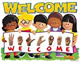* CHART SIGN LANGUAGE WELCOME TREND KIDS - T-38266