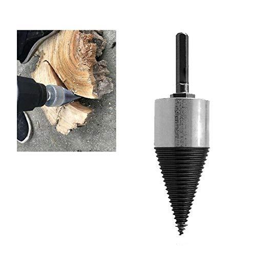 Come Mostrato in Foto spaccalegna Drill Bit High Speed  Stelo Esagonale Twist in Acciaio al Carbonio 32 mm Trapano per Legna da ardere