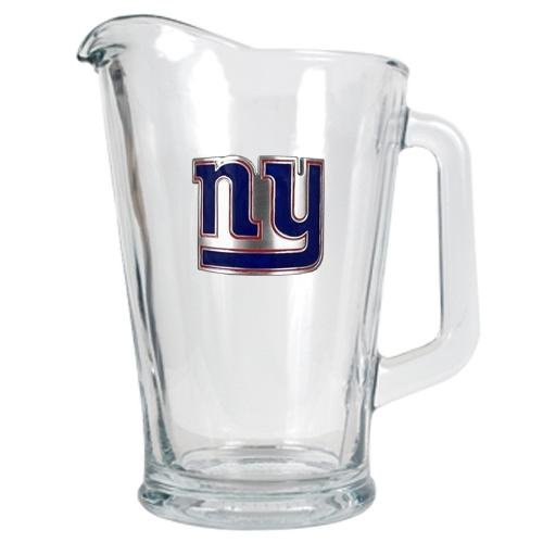 NFL New York Giants 60-Ounce Glass Pitcher - Primary Logo