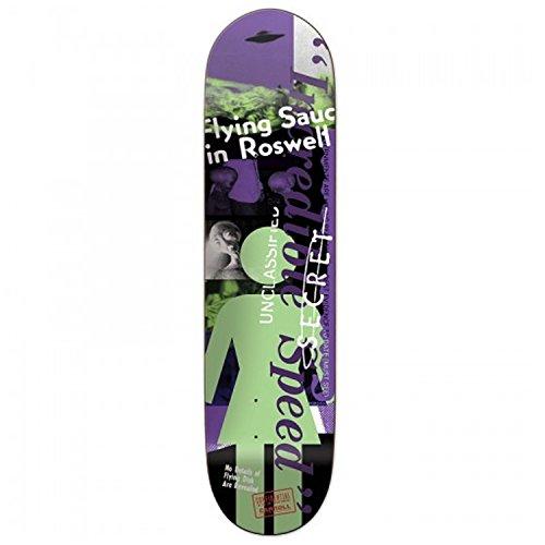 Girl Skateboard Deck Carroll Conspir-OG 8.375