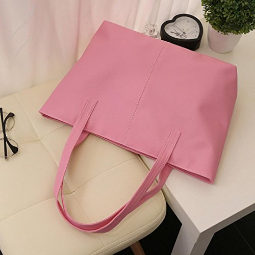 Messenger Travel Bag Tote Bag NXDA PU Bag Girl Crossbody Pink Handbag For Shoulder Purse Women Women Bag For Leather Red 787RI