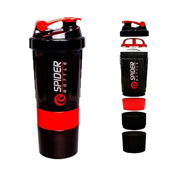 Worthy Shoppee Red Spider Protein Shaker Bottle for Gym 1