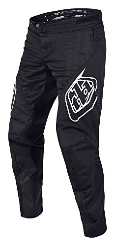 Troy Lee Designs 2018 Sprint Solid Boys Bike BMX Pants - 28,Black by Troy Lee Designs