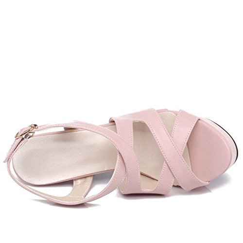 Sandales Melady Femmes Mode Pink Plateforme fftSq