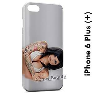 Carcasa Funda iPhone 6 Plus (iPhone 6+) Tattoo Girl Sexy Protectora Case Cover
