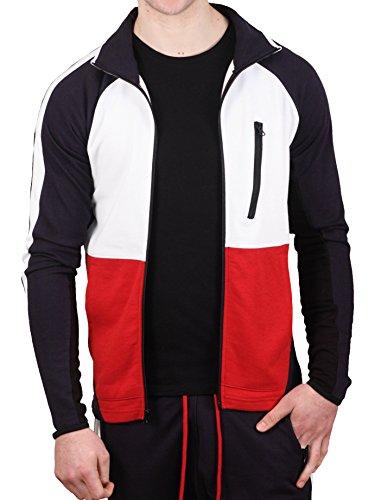 Jordan Craig Global Color Block French Terry Track Jacket (Track Jacket Terry French)