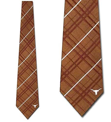 (Texas Longhorns Woven Silk Necktie - Mens)