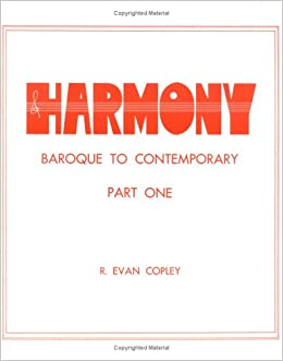 Harmony: Baroque to Contemporary, Part 1