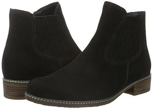 Stivali Micro Gabor schwarz Nero Shoes Sport Donna Comfort Chelsea BnZ4n7v