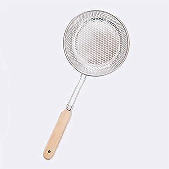 Inoxidable colador filtro de acero inoxidable con mango de ...