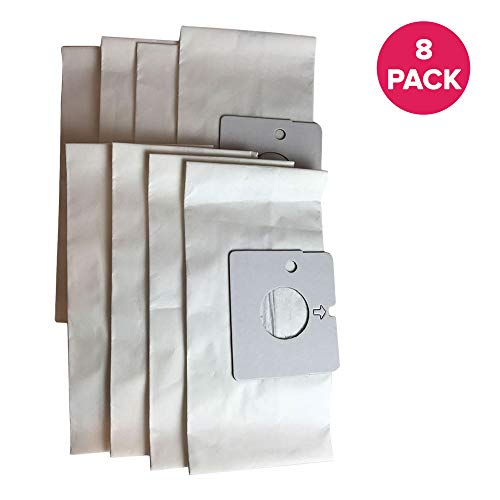 - Crucial Vacuum Replacement Vac Bags Part # 20-51195 - Compatible With Kenmore Kenmore Magic Blue M Paper Bags - Ensure Refreshing Home, Office, Condo, Apartment For Compact Use (8 Pack)