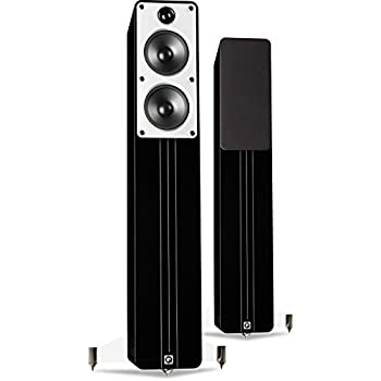 Q Acoustics Concept 40 Floorstanding Speakers (Pair) (Gloss Black)