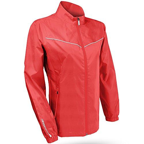 (Sun Mountain 2015 Ladies Provisional Jacket Coral-White S G562012)