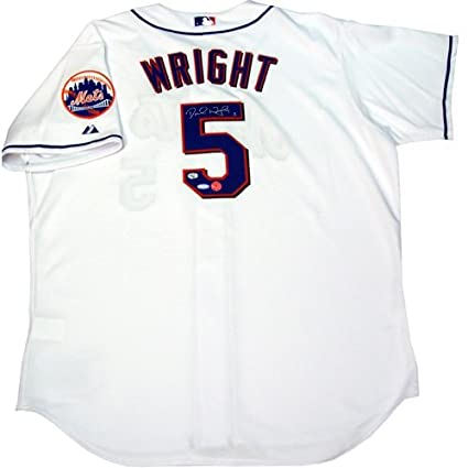 sale retailer 56eb0 24c63 David Wright Steiner Signed Official Authentic New York Mets ...