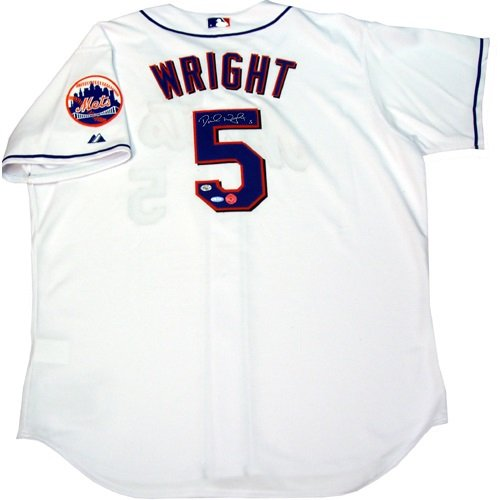 David Wright Steiner Signed Official Authentic New York Mets Jersey David Wright Signed Jersey