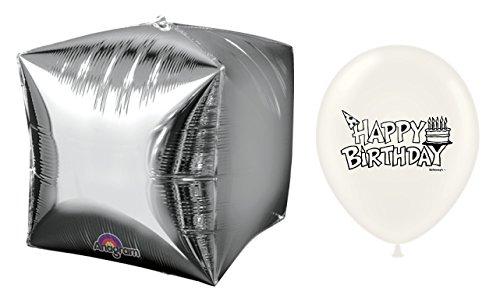 Silver Foil Cube (15