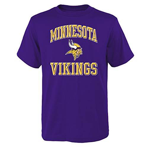T-shirt Ovation Print (Outerstuff Minnesota Vikings Youth NFL Ovation Short Sleeve T-Shirt)