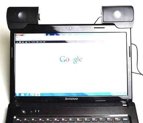ALTAVOCES ORDENADOR PC PORTATIL LAB TOP Notebook CONEXION USB 3.5 mm jack: Amazon.es: Electrónica