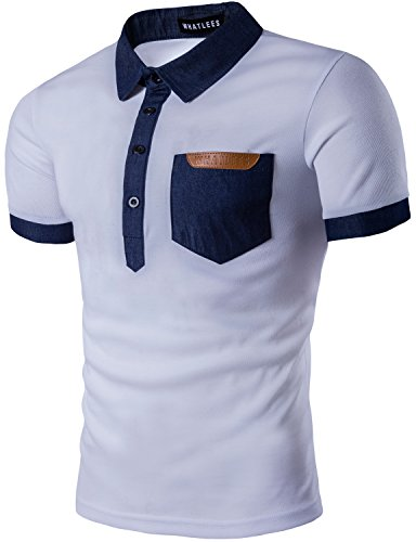 Whatlees Hipster Casual Shirts Sleeve