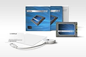 Crucial m4 256GB 2.5-Inch (7mm) Solid State Drive with Data Transfer Kit CT256M4SSD1CCA