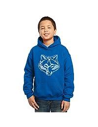 Los Angeles Pop Art Boy's Hooded Sweatshirt - Cub Scout