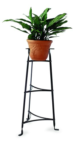 Enclume Premier 3-Tier Plant Stand, Pot Rack, Hammered Steel