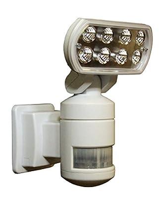 Versonel VSLNWP502 Nightwatcher Security Motion Track Light, White