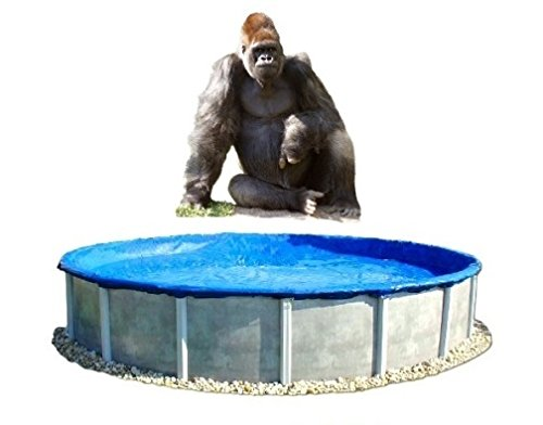 Economy - 27' Round Above Ground Pool Winter Cover - 27 ft Gorilla Pool Cover by Quality Pool Products