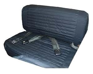 Bestop 29223-04 Jeep Rear Fold & Tumble Seat Cover TAN For 1965-95 Jeep CJ5 CJ7 and Wrangler