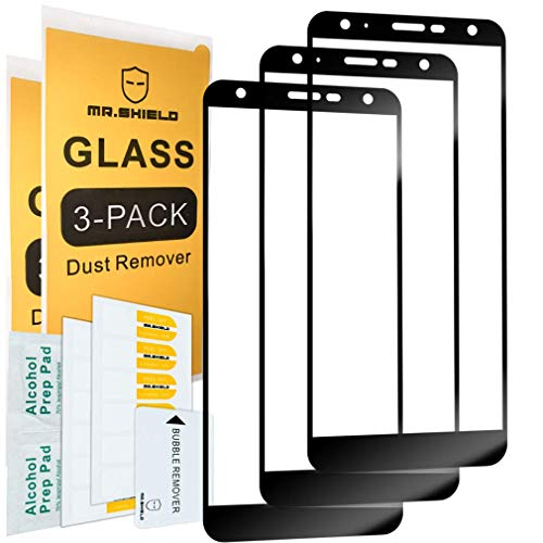 [3-Pack]-Mr.Shield for LG (Xpression Plus 2) [Japan Tempered Glass] [9H Hardness] [Full Cover] Screen Protector with Lifetime Replacement