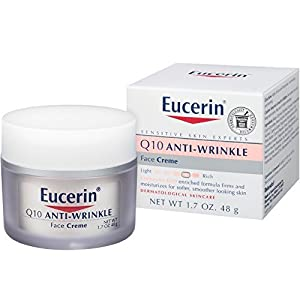 Eucerin Q10 Anti-Wrinkle Sensitive Skin Creme 1.70 oz by Eucerin