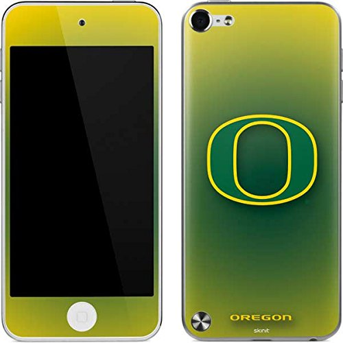 (University of Oregon iPod Touch (5th Gen&2012) Skin - Oregon Ducks Green Gradient Vinyl Decal Skin For Your iPod Touch (5th Gen&2012))
