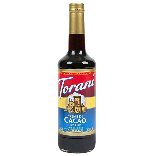 - Torani Creme De Cacao Syrup, 750 mL