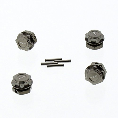 Team Losi 8IGHT 4.0 Buggy 1/8: Hard Anodized Hex Hubs & Wheel Nuts, Drive Pins -