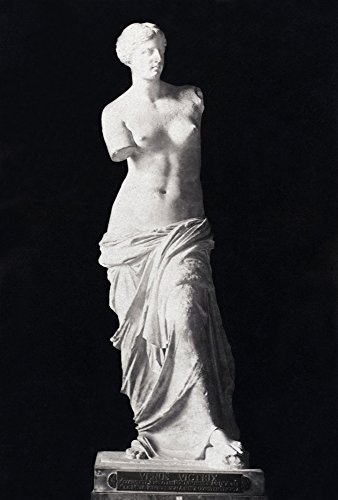 Venus De Milo Nancient Marble Statue From Melos C150 BC Cabinet Photograph French Late 19Th Century Poster Print by (18 x 24)