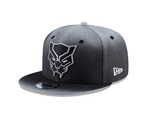 New Era Black Panther Logo Dark Grey 9Fifty Adjustable Hat