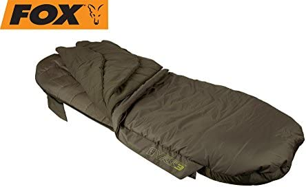 Fox Ven de Tec vrs3 Sleeping Bag 103 x 220 cm Saco de Dormir, Angel Saco de Dormir, Pesca Saco de Dormir para Pesca Nocturna