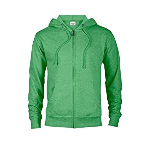 Casual Garb Hoodies for Men Lightweight Fitted Heather French Terry Full Zip Hoodie Hooded Sweatshirt 29