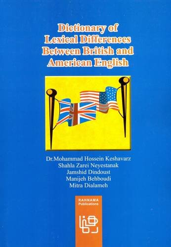 Dictionary of Lexical Differences Between British and American English (Difference Between American English And British English)