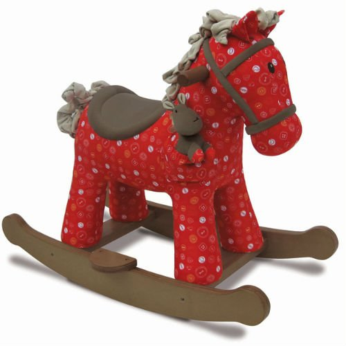Little Bird Told Me Doodle & Crumb Rocking Horse by Little Bird Told Me