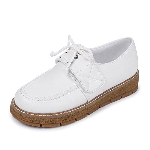 Zapatos oscuros elegante/Correa de Velcro mocasines de tacón/minimalistas B