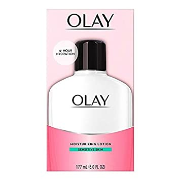 olay moisturizing lotion sensitive skin